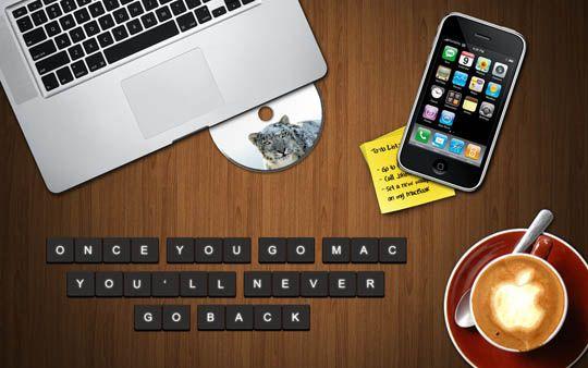 Once you go Mac you'll never go back #wallpaper: Completely Geeked, Geek Tastic, Geek Errific, Mac You Ll, Art, Apple Stuff, Wallpapers, Friend Technology, Apple Mac