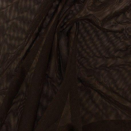 Vous souhaitez du tissu pas cher ? Voici notre sélection de Tulle souple chocolat pas cher disponible à prix discount en coupon ou au mètre