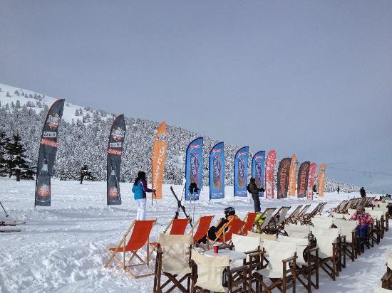 Snow season kalavrita style