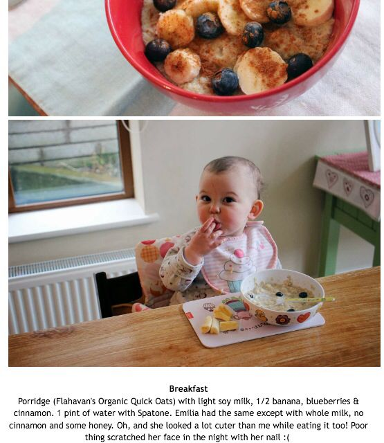 Yum Anna Saccone blog, toddlers meal