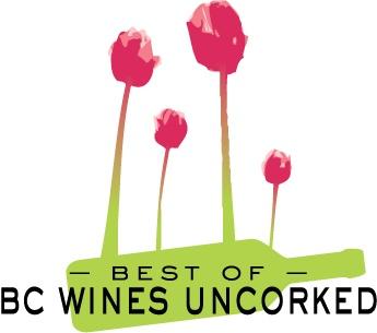 Dit logo werd ontworpen voor 'the Best of BC Wines Uncorked event' in de juni 2009. Dit logo is informeel en speelt met het idee van het samen genieten van een fles wijn, terwijl je de tijd neemt om de bloemen te ruiken. De kleuren zijn sterk geassocieerd met de zomer, en de afbeelding is sterkl vereenvoudigd.