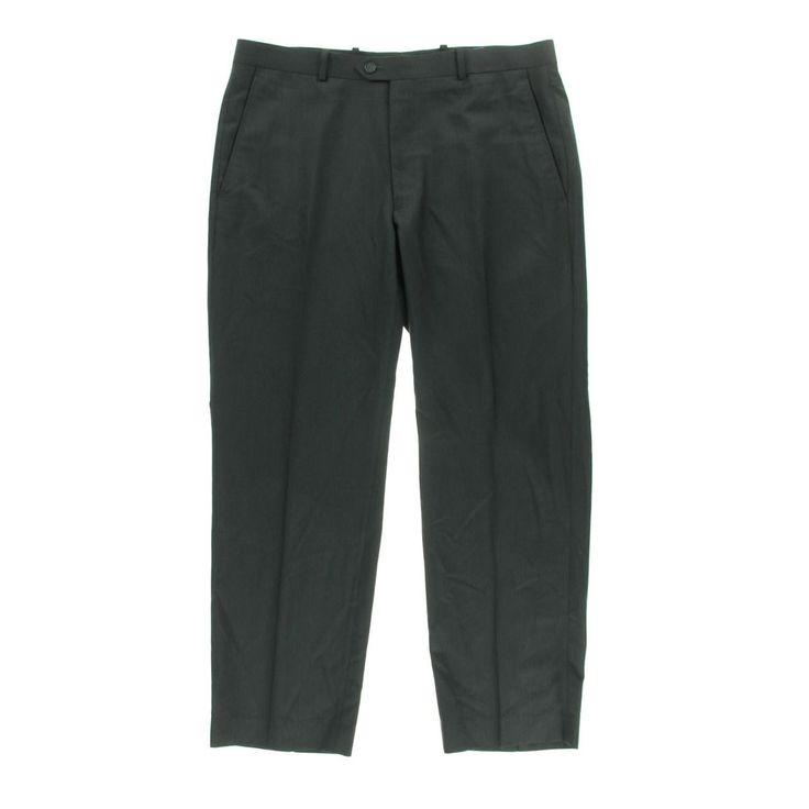 Alfani Mens Pinstripe Slim Fit Dress Pants