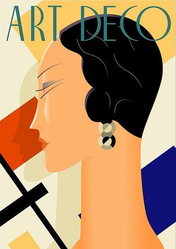 Art Deco Sieraden zijn verkrijgbaar bij artdecowebwinkel.com.