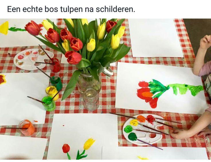 Echte tulpen