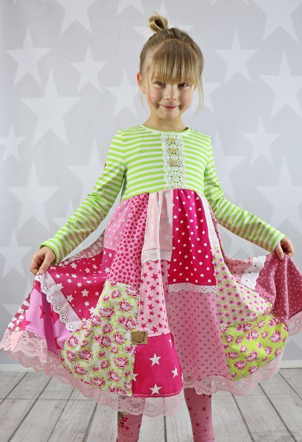 Pin auf Kinderkleider nähen - die besten Schnittmuster