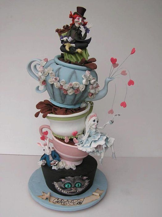 mad hatter wedding cakes designs top 25 ideas about mad hatter cake on mad 16978