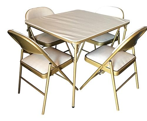 Midcentury Game Table and Chair Set —