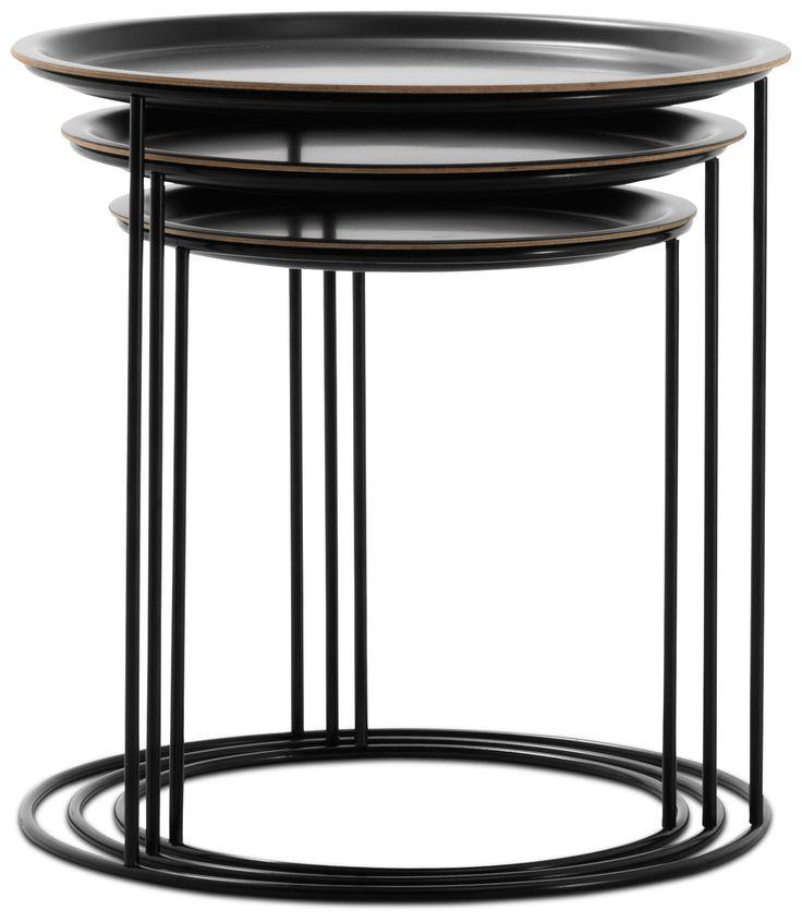 Design Beistelltische aus Glas & Furnier - Qualität von BoConcept®