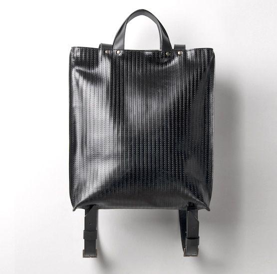 leather backpack by Juhász Dóra