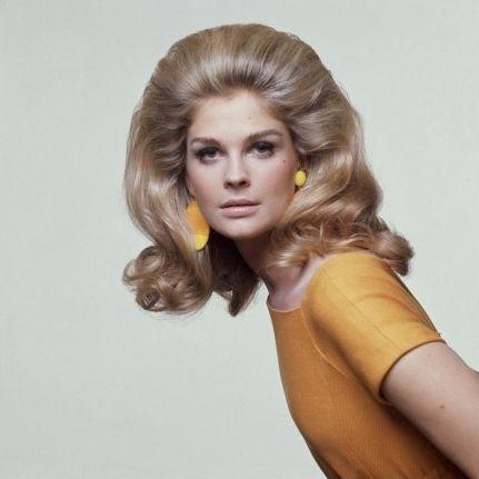 Candice Bergen for Vogue (May 1967) marinni: Мода в СССР. Прически 1960-х годов.