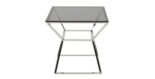 Ł279 express delivery Mercury Square Lamp Table Mercury | DFS
