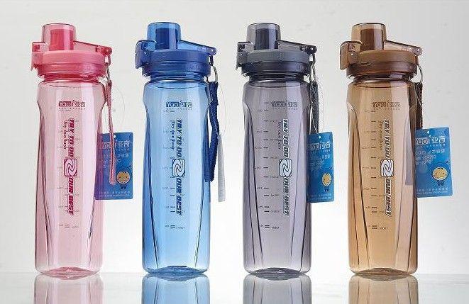 Спортивные бутылки с водой outspace чашка п . п . пластиковая бутылка чайник чайник удобный отдых путешествия открытый , пить