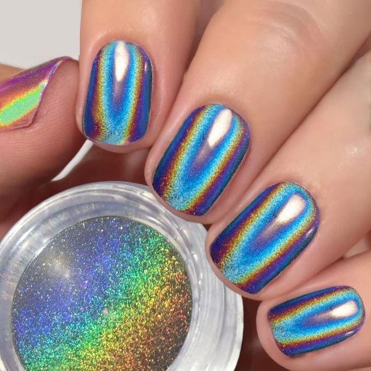 Powder Nail Polish Near Me: Best 25+ Chrome Nail Powder Ideas On Pinterest
