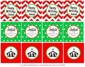 Life {Sweet} Life: Happy Birthday Jesus! {Free Printable}