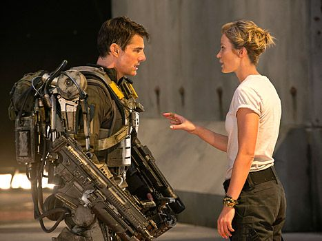 GREAT movie! Edge of Tomorrow Review: Tom Cruise Movie Gets 3 1/2 Out of 4 Stars - Us Weekly
