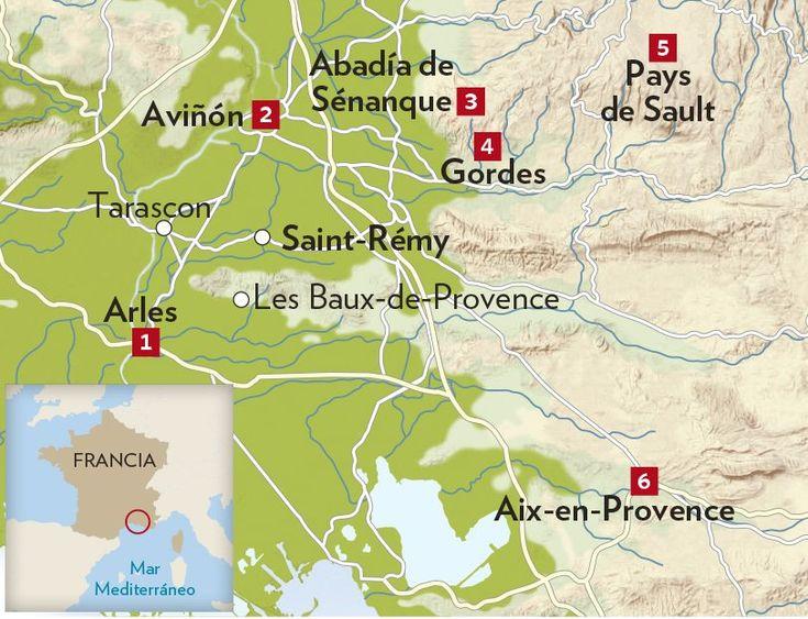 Las 25 mejores ideas sobre francia provenzal en pinterest - Casas en la provenza ...
