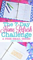 I am so excited to start the 7-Day Home Refresh Challenge! A free email series with printables to help you start a home cleaning routine