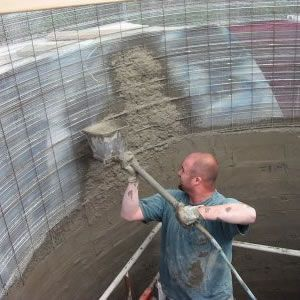 Used To Spray Plaster Stucco Small Scale Shotcrete