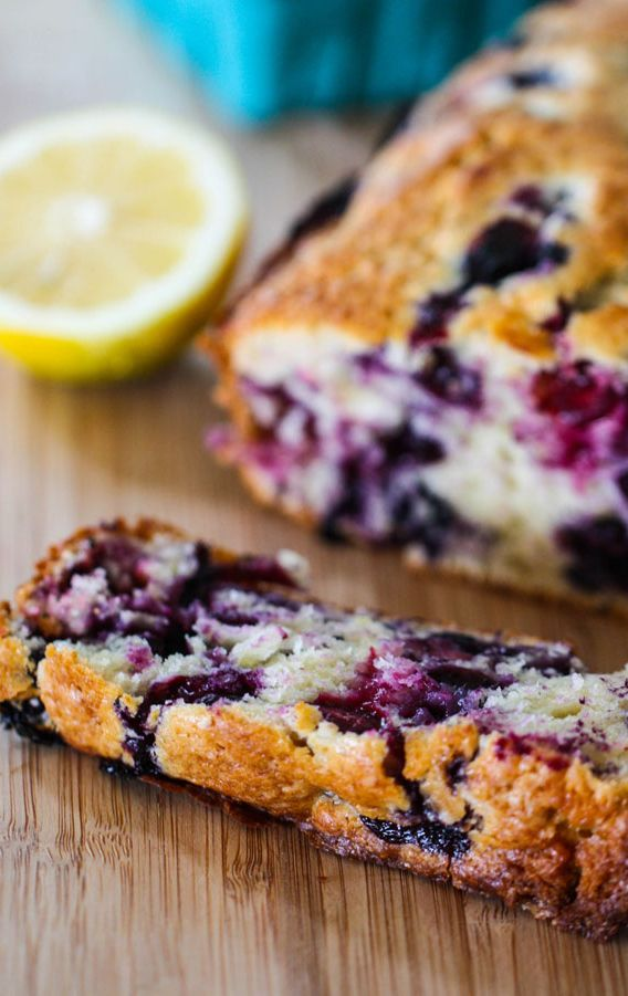 Lemon Blueberry Muffin Bread Recipe