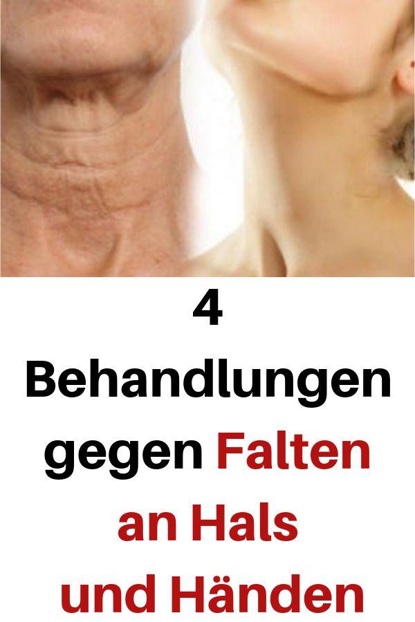 4 Behandlungen gegen Falten an Hals und Händen #Behandlungen #Händen