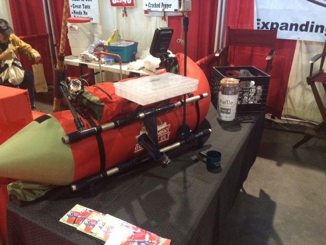 CastMate System for Pontoons And Float Tubes