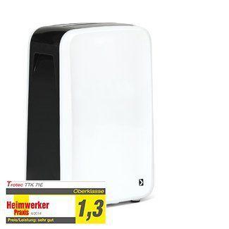 TROTEC TTK 71 E Déshumidificateur (24 l/j) pour 50 m² max.: Price:Hygrostat intégré – L'hygrostat réglable de l'appareil permet de faire…