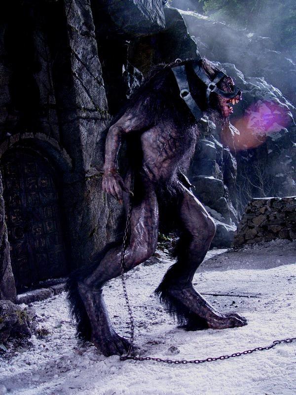 Underworld Werewolf   The Werewolf ambush — before and after.