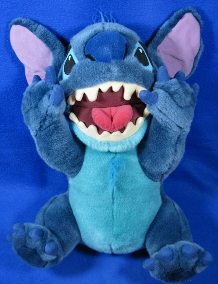 "Disney Store Lilo & Stitch Large 18"" Stitch as Dog Plush Figure Soft Toy #Disney"