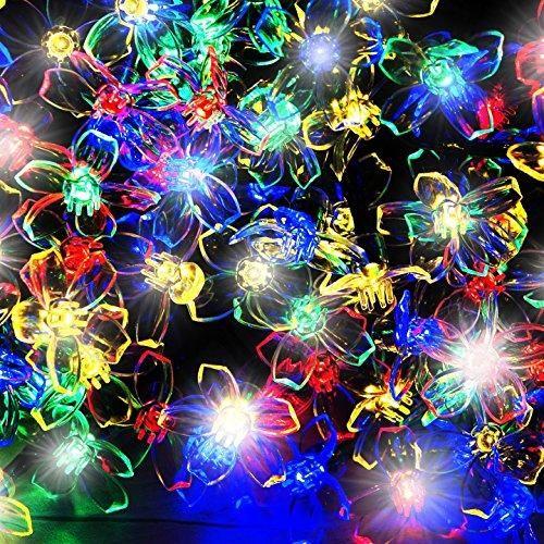 Oferta: 19.99€ Dto: -80%. Comprar Ofertas de Cadena de 100 de luces solares de flores LED Multicolores ntía incluido) de SPV Lights: Los Especialistas en Luces e Iluminac barato. ¡Mira las ofertas!
