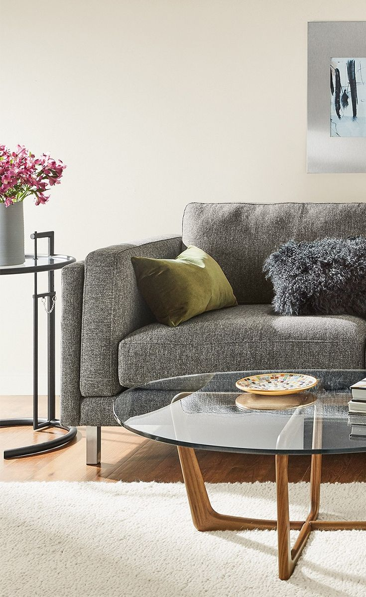 Modern chaise living room - A Modern Design With Classic Details The Cade Sectional Lets You Lounge With A Refined