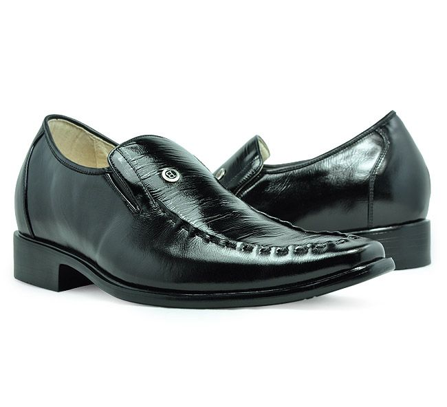 Find Black men height increasing dress shoes can be taller / with SKU: from  Topoutshoes online store