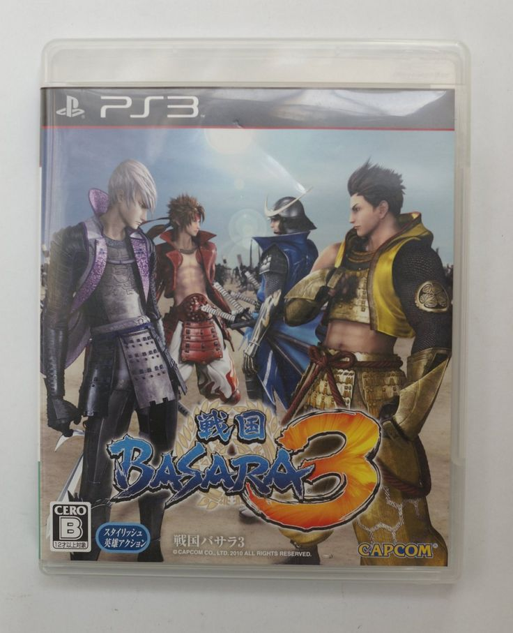 PS3 Japanese :  Sengoku Basara 3 BLJS-60218 http://www.japanstuff.biz/ CLICK THE FOLLOWING LINK TO BUY IT ( IF STILL AVAILABLE ) http://www.delcampe.net/page/item/id,0374595055,language,E.html