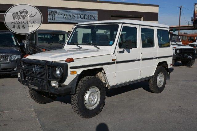 1984 Mercedes Benz 4-Door Long Wheel Base HARD TOP G-wagon 4x4 Wheat Ridge, CO 30 www.mastodon4x4.com