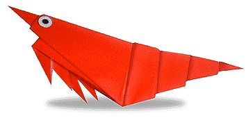 Origami Prawn