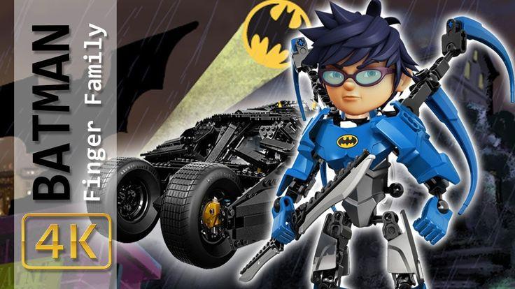 BoBoiBoy Galaxy Transforms Into LEGO BATMAN Finger Family Song Boboiboy ...