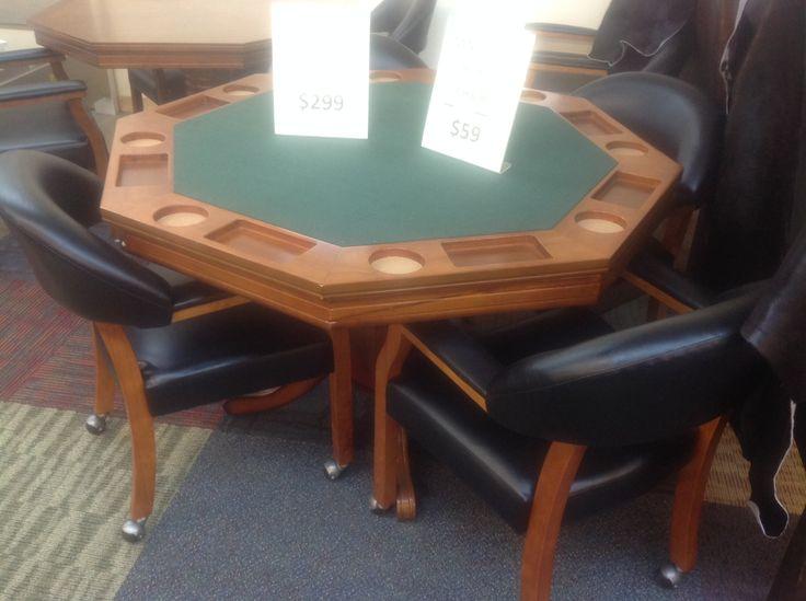 die besten 25+ poker table and chairs ideen auf pinterest, Esstisch ideennn