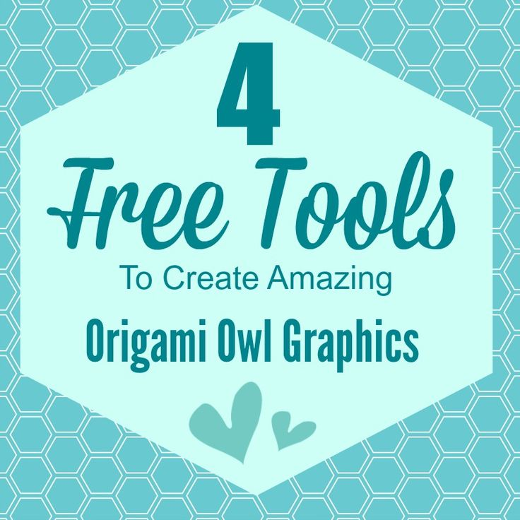 Want to create easy one of a kind Origami Owl graphics, Check out these tools here.