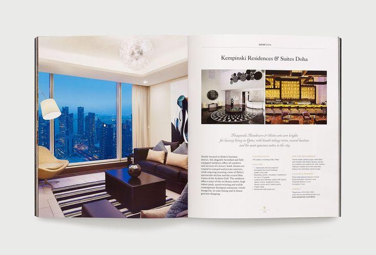 Kempinski Hotels brand identity development by Inaria. Luxury hotel brand brand design and implementation.