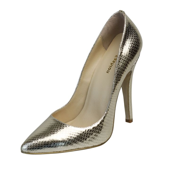 Gsna. Fashion, sexy gold color high-heel shoes. With it, you are the queen in evening party.