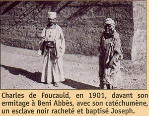 Charles de Foucauld was born in Strasbourg September 15, 1858