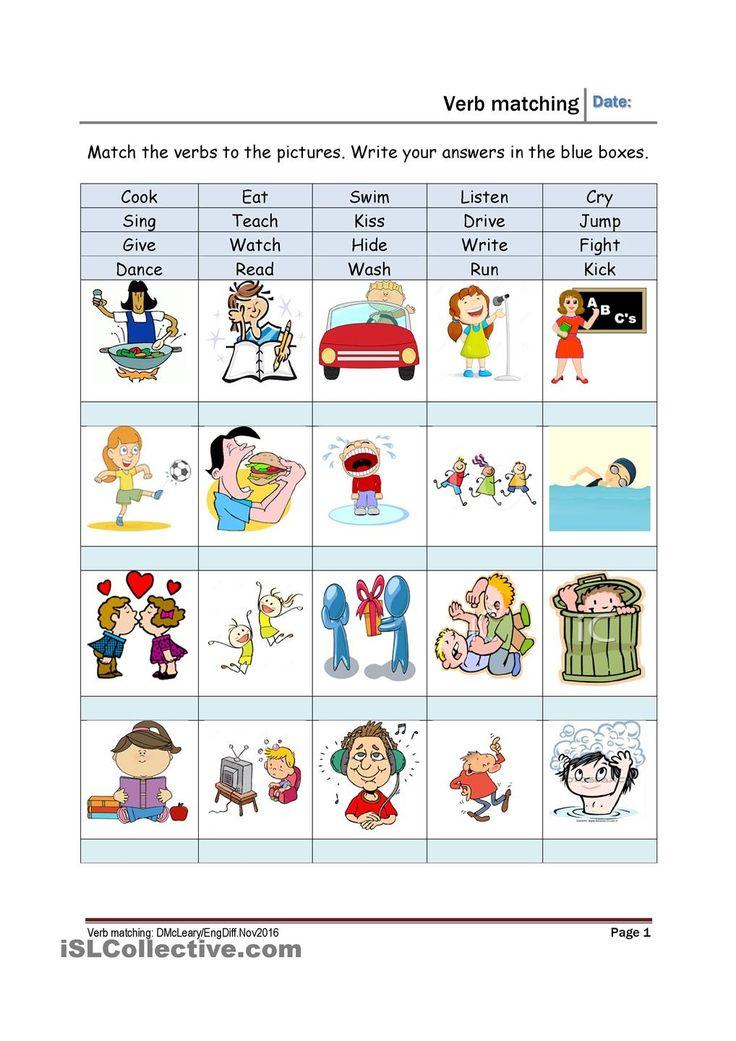 356 best verbs lists regular \/ irregular images on Pinterest - what is an action verb
