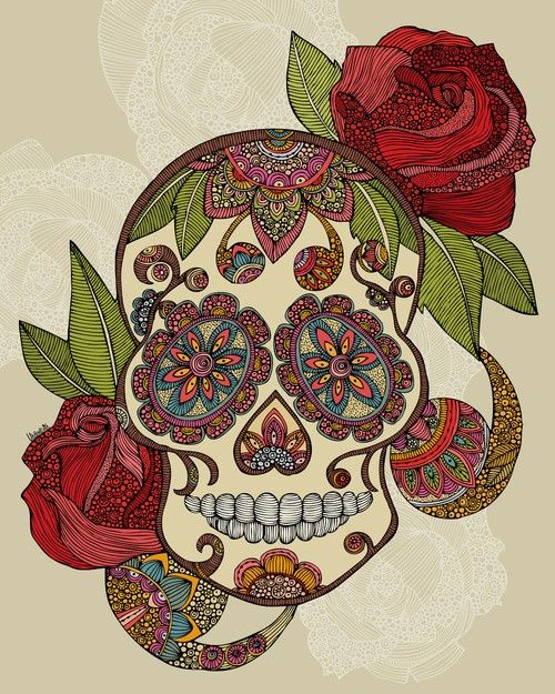 Sugar Skull...love this one