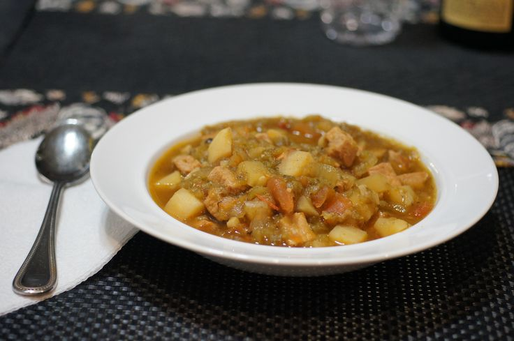 New Mexico Green Chile Stew