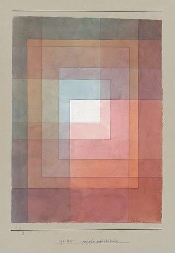 'White Framed' by Paul Klee