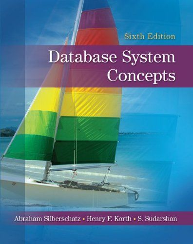 I'm selling Database System Concepts, 6th Edition by Abraham Silberschatz, Henry Korth and S. Sudarshan - $45.00 #onselz