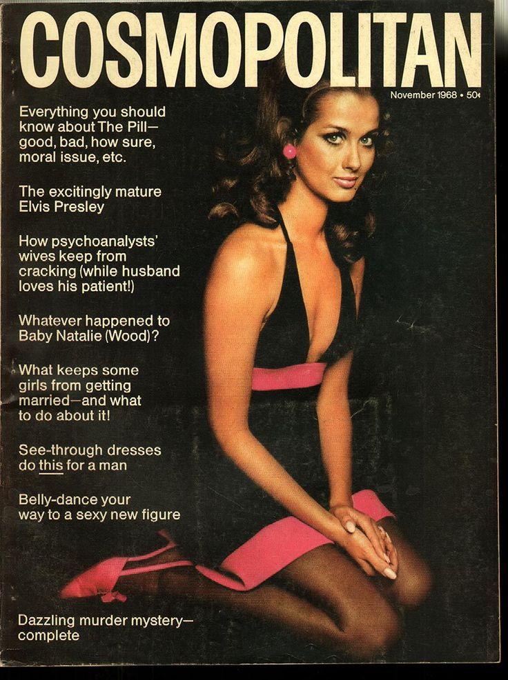 Cosmopolitan magazine, November 1968 Model: Veronica Hamel
