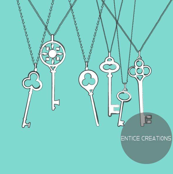 Keys! Please visit: www.enticecreations.wordpress.com for more details or follow @enticecreations on Instagram