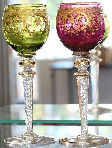 25 best ideas about waterford wine glasses on pinterest crystal glassware crystal wine - Waterford colored wine glasses ...