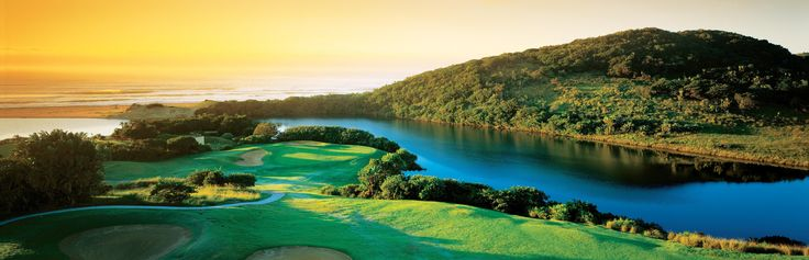 Wild Coast Sun Country Club - 1st hole locally known as Charlies Angles