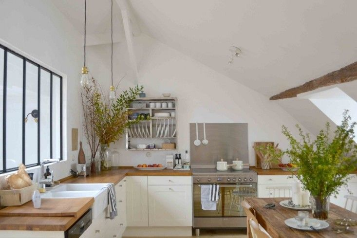 Steal This Look: A Sunny Ikea Kitchen in the Marais